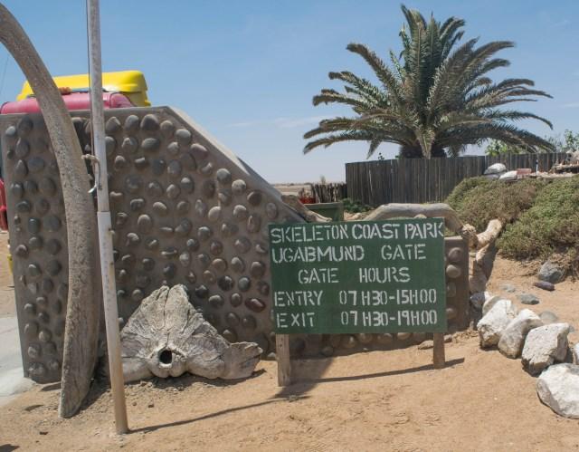 dirigir e viajar Namíbia