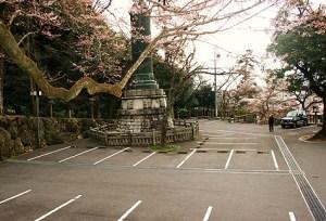 伊奈波神社 駐車場