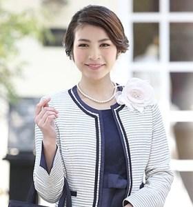 40代 ママ 入学式 ジャケット
