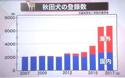 秋田犬 購入データ