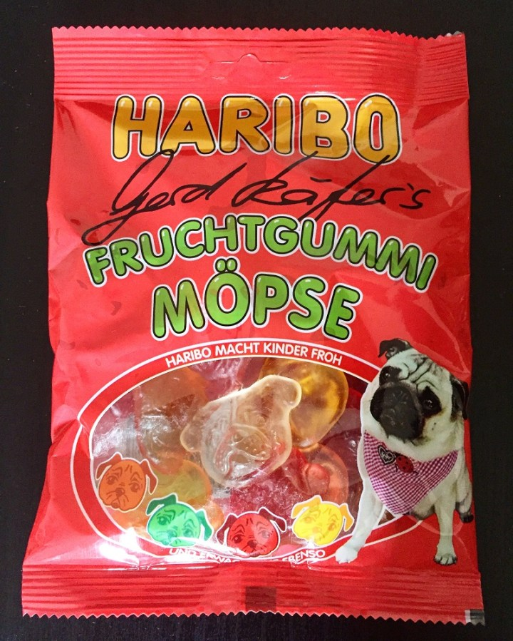 Pug gummies! I mean, why not?
