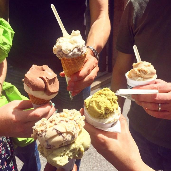 Ice cream at Eis Greissler.