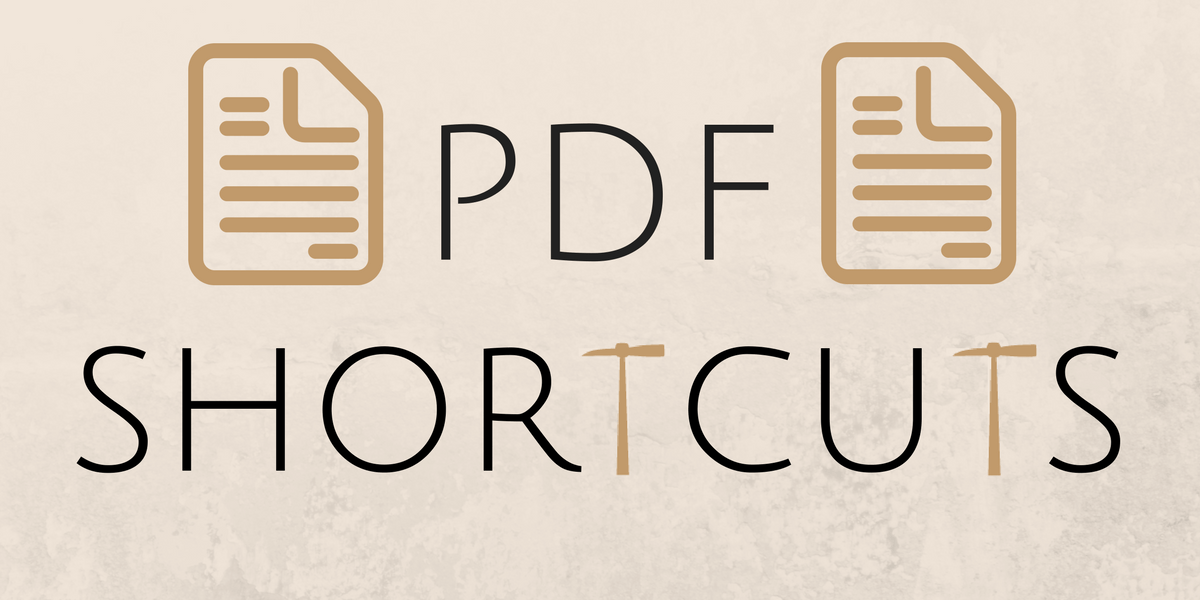 5 Useful Shortcuts When Reading Adobe PDFs