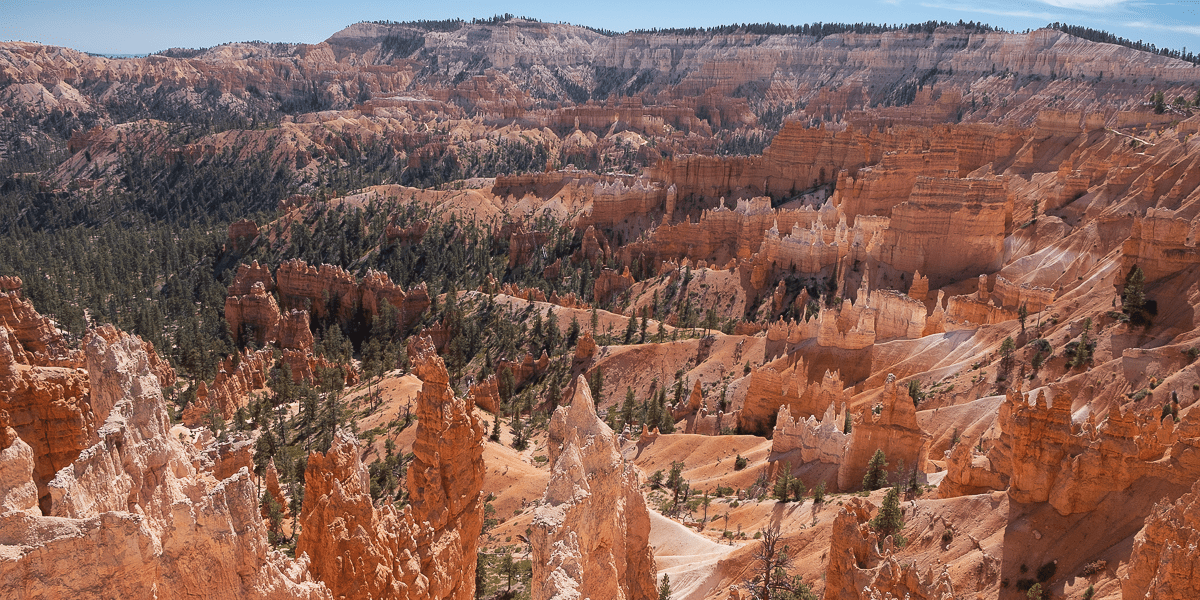 Sunrise and Sunset Points in Bryce Canyon National Park