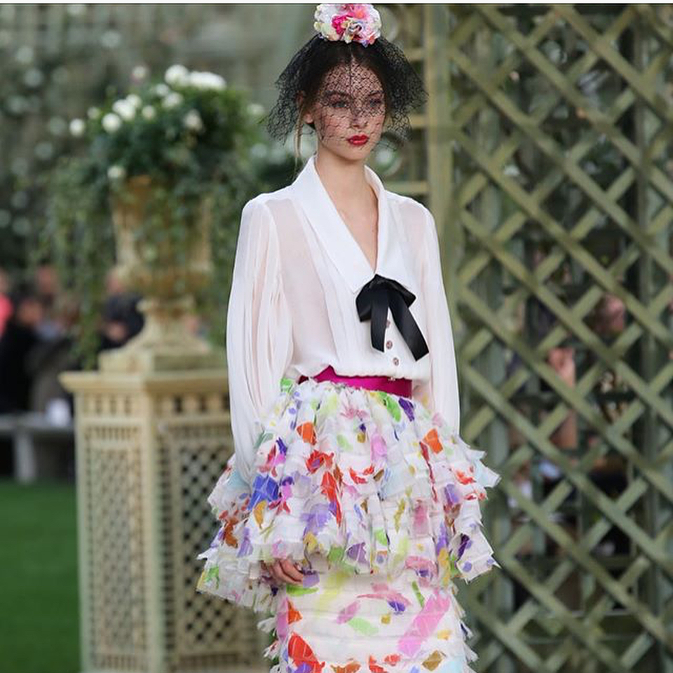 Habitually Chic Chanel Haute Couture SpringSummer 2018