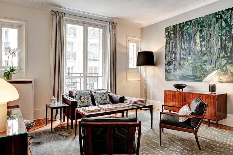 Habitually Chic® » Another Chic Rental Apartment In Paris