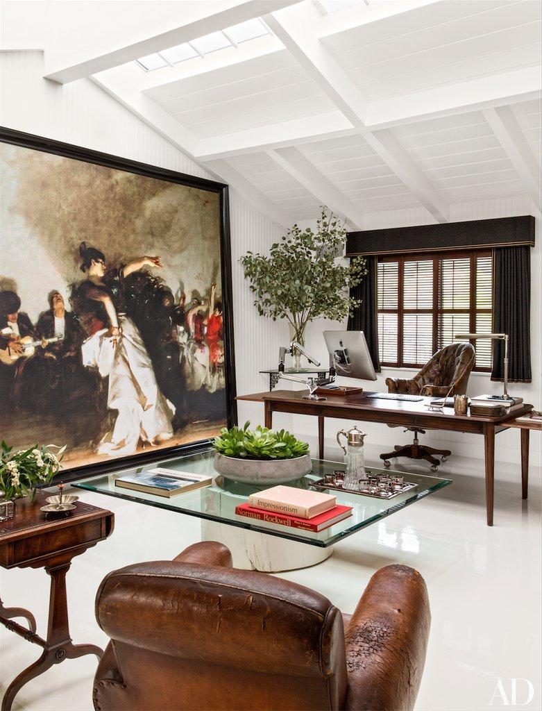 Habitually Chic 174 187 Will Kopelman S Amazing Home Office