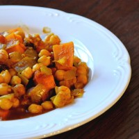 Moroccan Sweet Potato Tagine