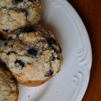 Wholesome Blueberry Muffins