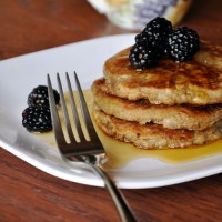 Pear & Buckwheat Pancakes