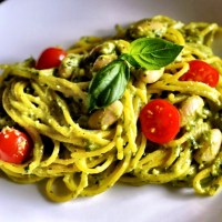 Pasta Goes Rogue: Vegan Avocado Pesto