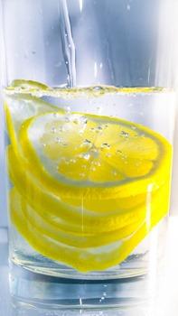 eau citronnee matin