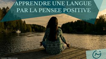 apprendre une langue pensee positive