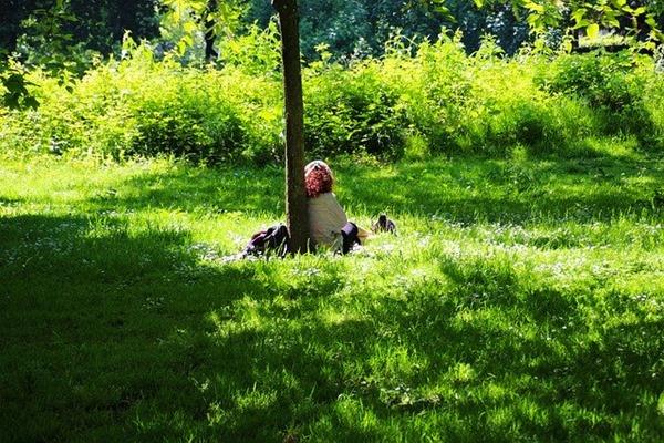 relaxation en foret être plus zen