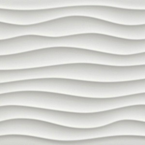 14 sf dune white matte 3d wall tile