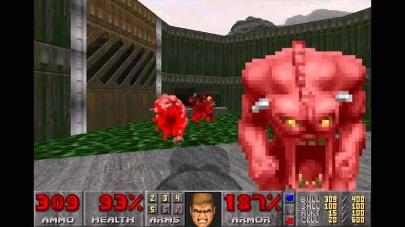Juegos antiguos de PC - DOOM