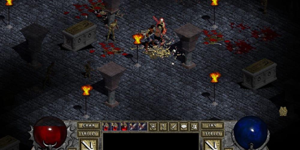 Juegos antiguos de PC - Diablo