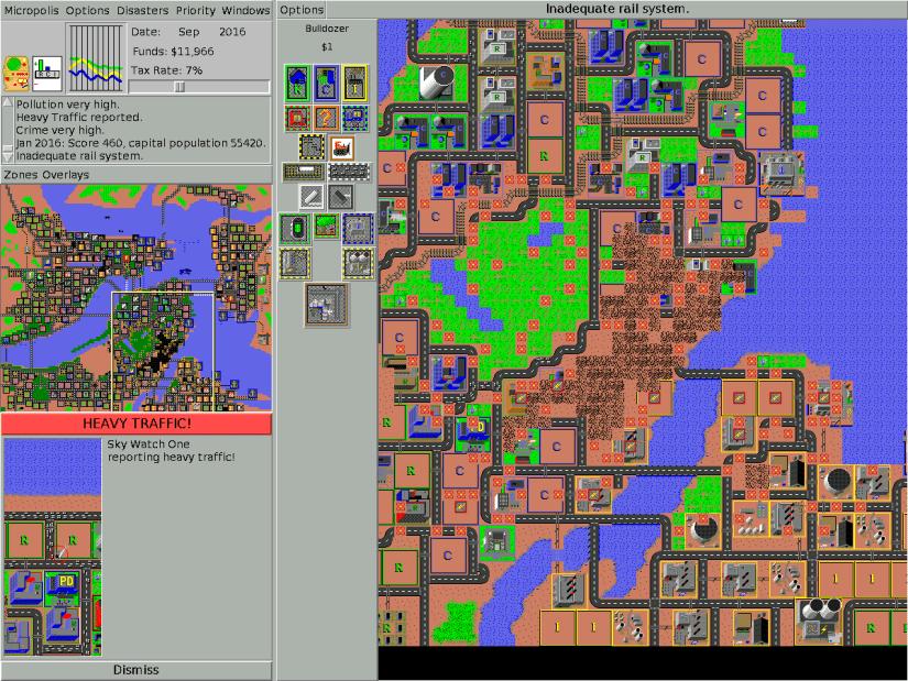 Juegos antiguos de PC - Simcity 1989