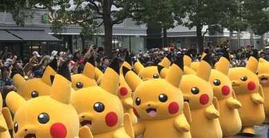 Imágenes: Pikachu Outbreak celebrado en Yokohama, Japón