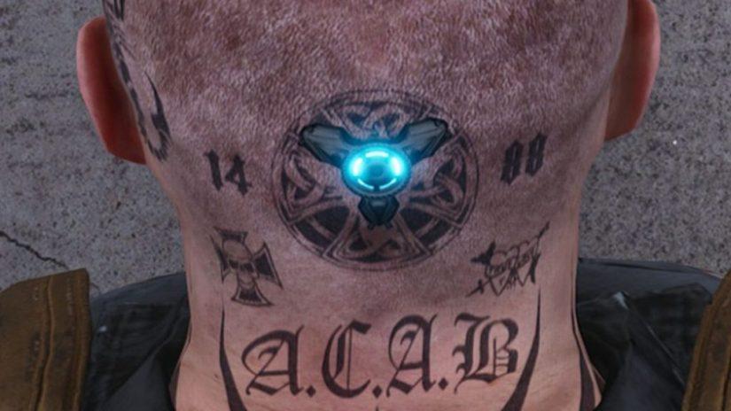 SCUM nazismo tatuajes