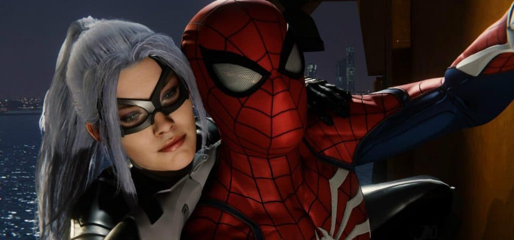 La gata negra Marvel's Spider-Man La ciudad que nunca duerme: el atraco DLC