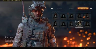 Call of Duty Black Ops 4 unlock multiplayer characters