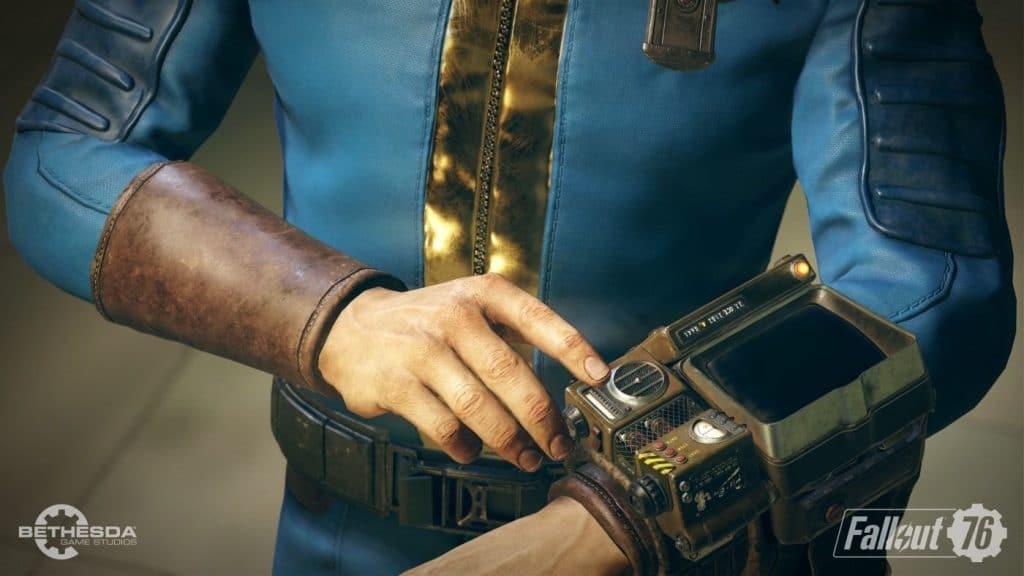 Las notas de parche para la actualización Fallout 76