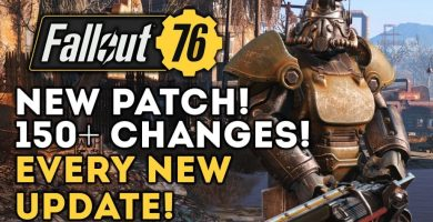 Fallout 76 Notes of the new patch 2019