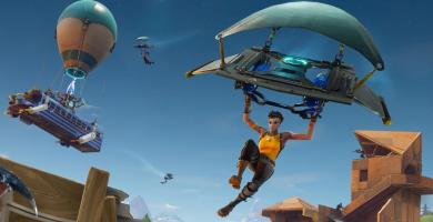 Fortnite redeployment of the Delta wing