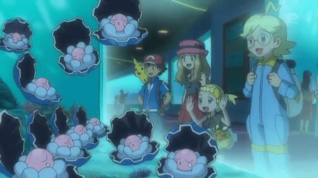 Evento Pokemon Go Clamperl