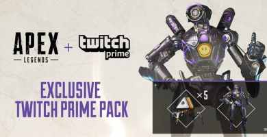 Pack Apex Legends Twitch Prime Gratis