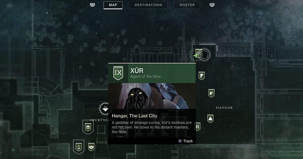 Destiny 2 Xur ubicación e inventario, Invitaciones de los nueve