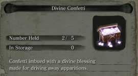 Sekiro: Dónde obtener Confeti Divino fácilmente