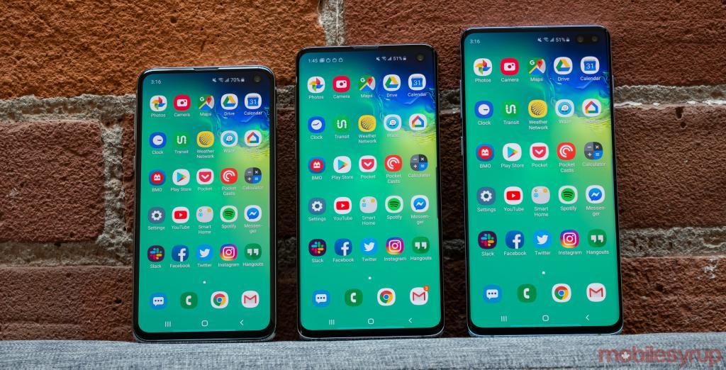 Samsung Galaxy S10 Se vuelve inutilizable después de la primera caída
