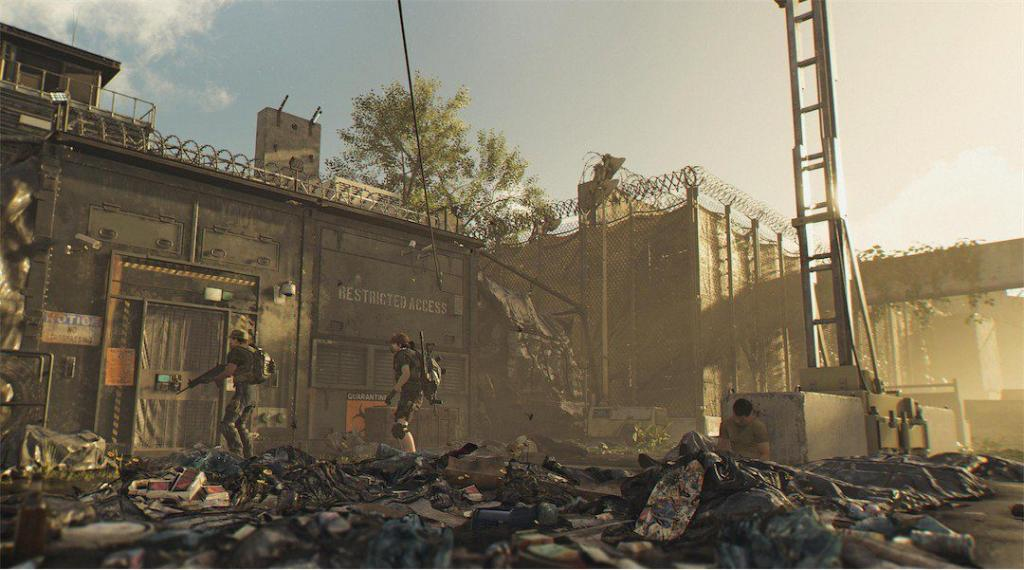 Zona Oscura Sur The Division 2
