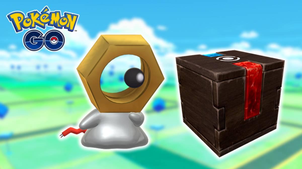 Pokemon Go Caja Misteriosa y Meltan Shiny