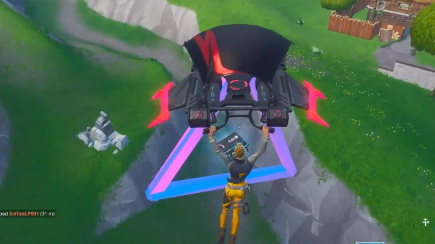 Fortnite Dónde encontrar el Fortbyte 89