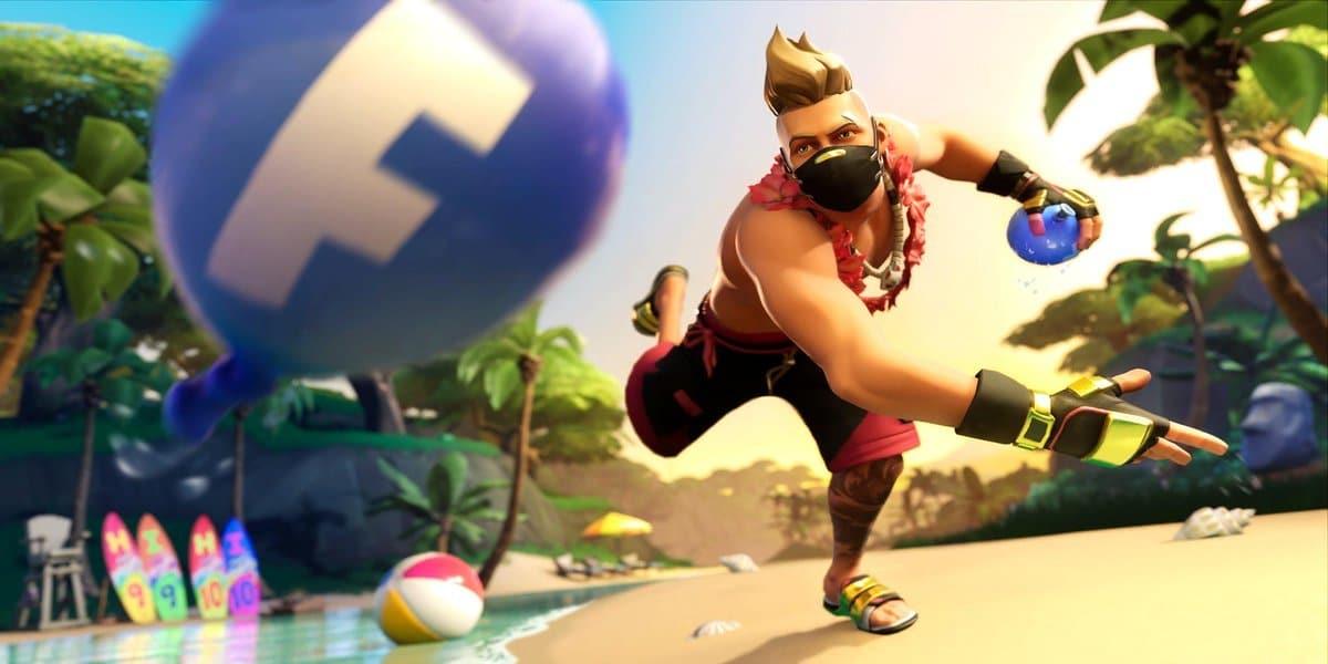 Fortnite Golpear a un Jugador con Globo de Agua - Desafío 14 Días de Verano