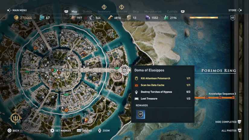 assassins creed odyssey Pechera Dikastes