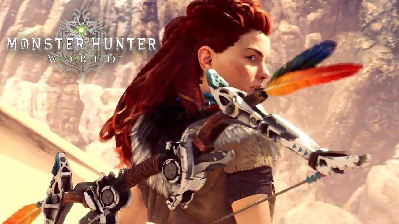 Monster Hunter World está recibiendo otro crossover de Horizon Zero Dawn
