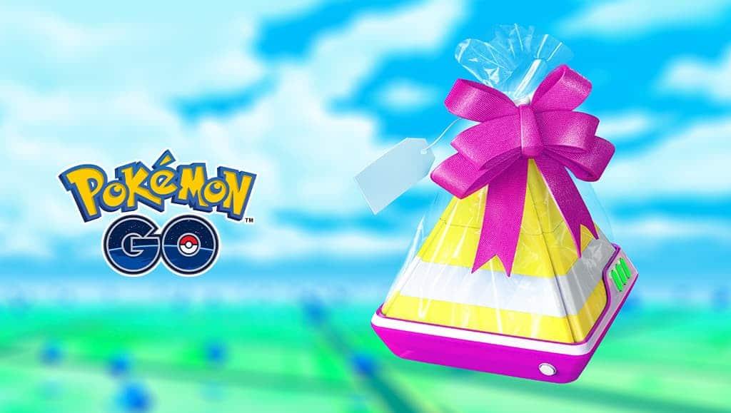 Pokemon Go Evento de Regalos