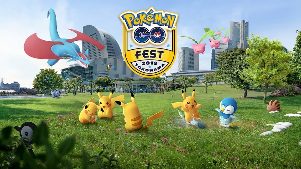 Pokemon Go Misiones Festival Global