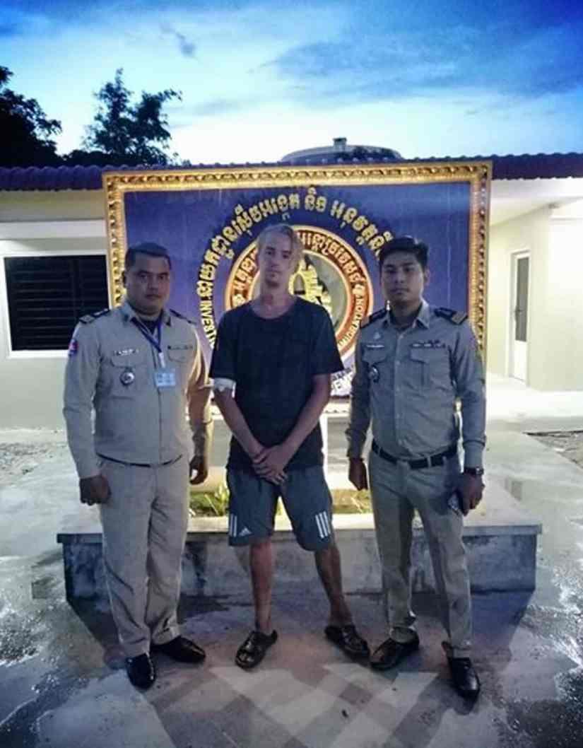 rappiomatkaaja cárcel camboya