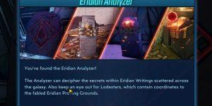 Borderlands 3: Como conseguir y aplastar los cristales de Eridium, y traducir escrito Eridian