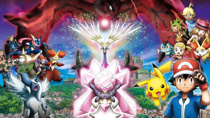pokemon xy pelicula completa en español
