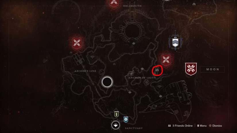 mapa Dónde encontrar la K1 Communication