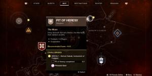 Destiny 2 Shadowkeep - Cómo encontrar el calabozo Hoyo de la herejía
