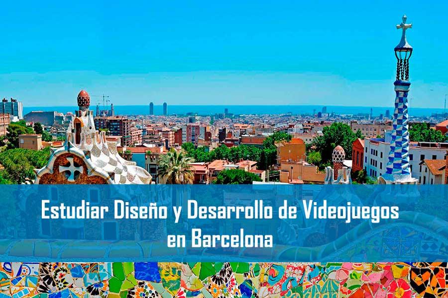Estudiar Diseño y Desarrollo de Videojuegos en Barcelona