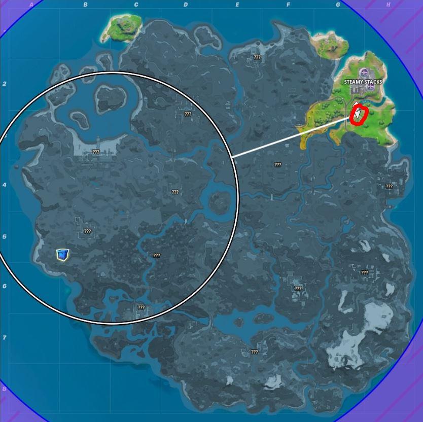 Fortnite: Dónde encontrar una caña de pescar y qué puedes pescar