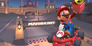 Mario Kart Tour Acertar 5 veces con la Super Bocina